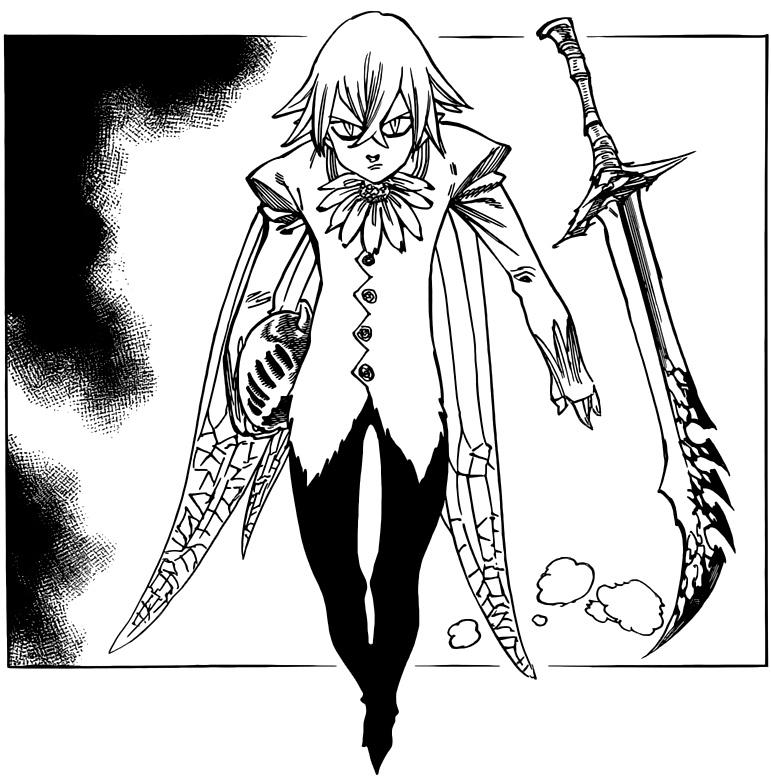 Nanatsu no Taizai chapter 72 - Helbram's true form