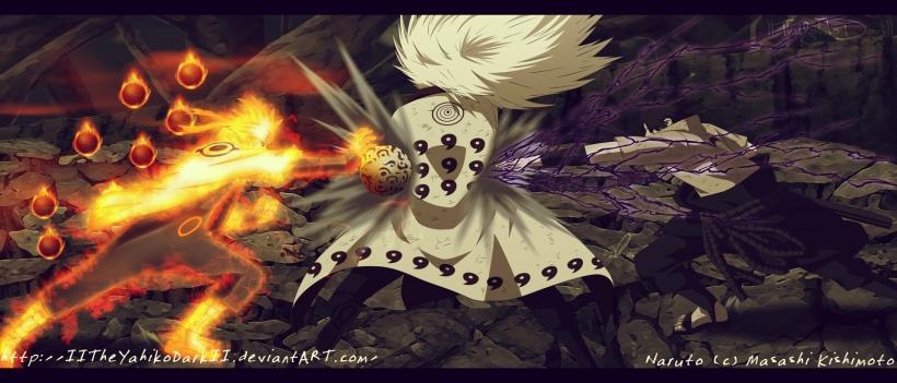 Naruto chapter 674 - All or Nothing - colour by IITheYahikoDarkII (http://iitheyahikodarkii.deviantart.com)