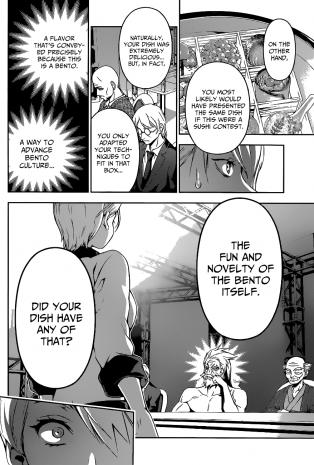 Shokugeki no Soma chapter 66 - the missing elements to Alice's bento