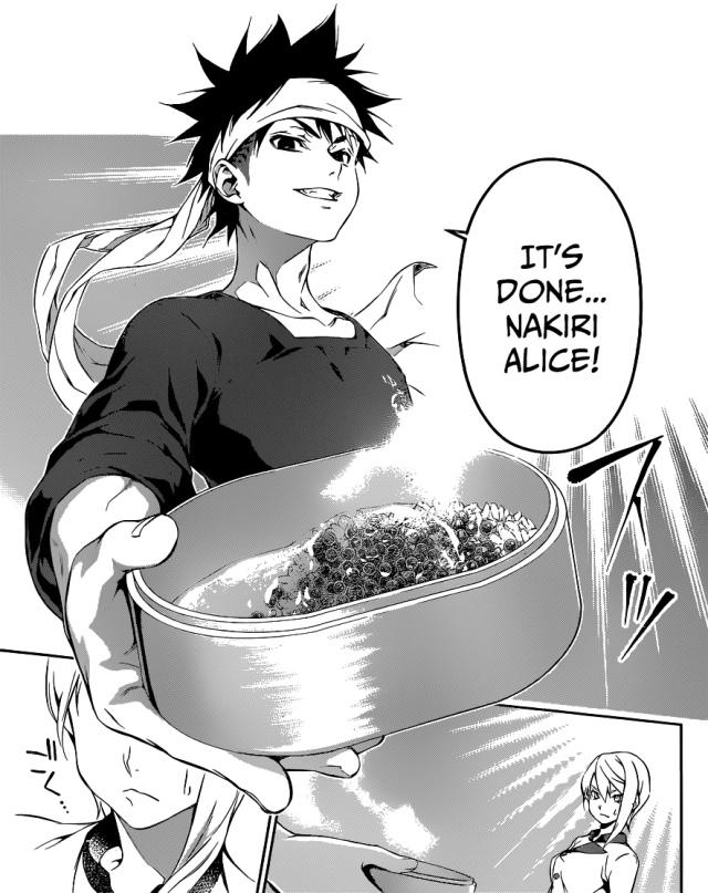 Shokugeki no Soma chapter 66 - Souma and Alice