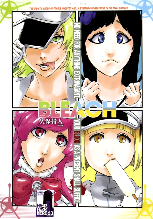 Bleach chapter 581 - Candice, Liltotto, Meninas, and Giselle
