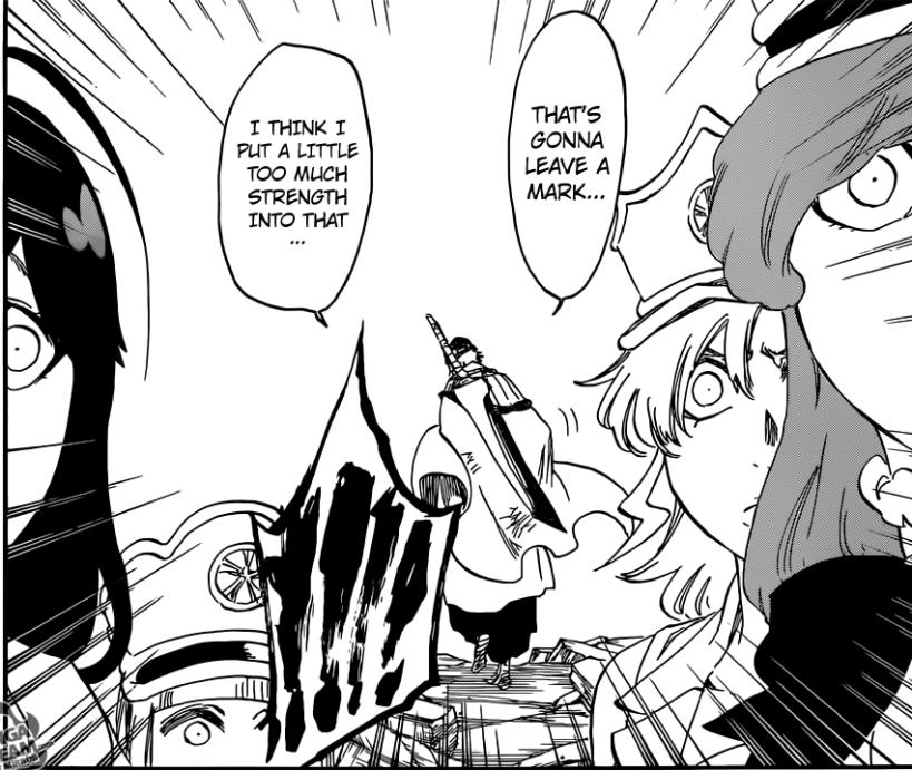 Bleach chapter 581 - Ichigo arrives to save Zaraki