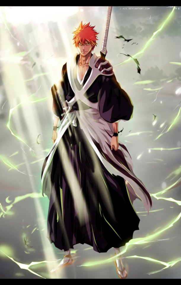 Bleach chapter 582 - Ichigo Returns - colour by i-azu (http://i-azu.deviantart.com)