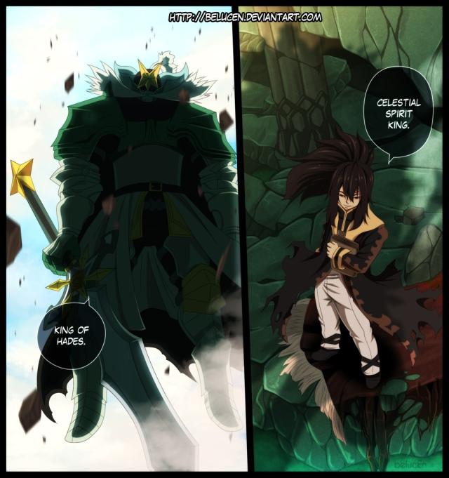 Fairy Tail chapter 384- Marde Guille vs Celestial Spirit King - colour by belucEn (http://belucen.deviantart.com)