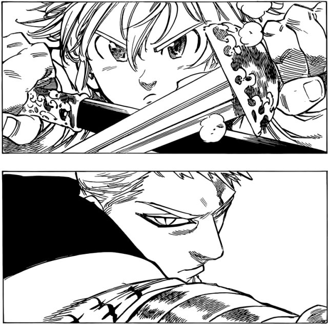 Nanatsu no Taizai chapter 76 - Melodias vs Hendricksen