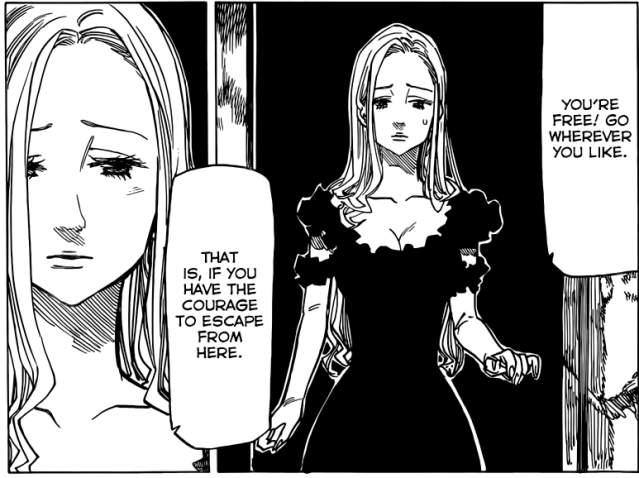 Nanatsu no Taizai chapter 76 - Magaret's pain