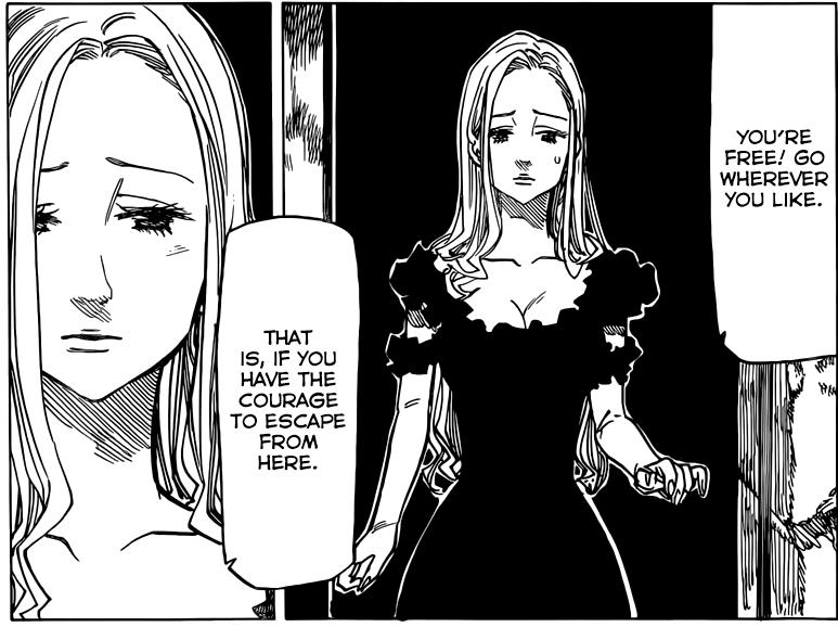 Nanatsu no Taizai chapter 76 - Magaret's pain