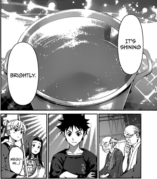 Shokugeki no Soma chapter 69 - Megumi's soup