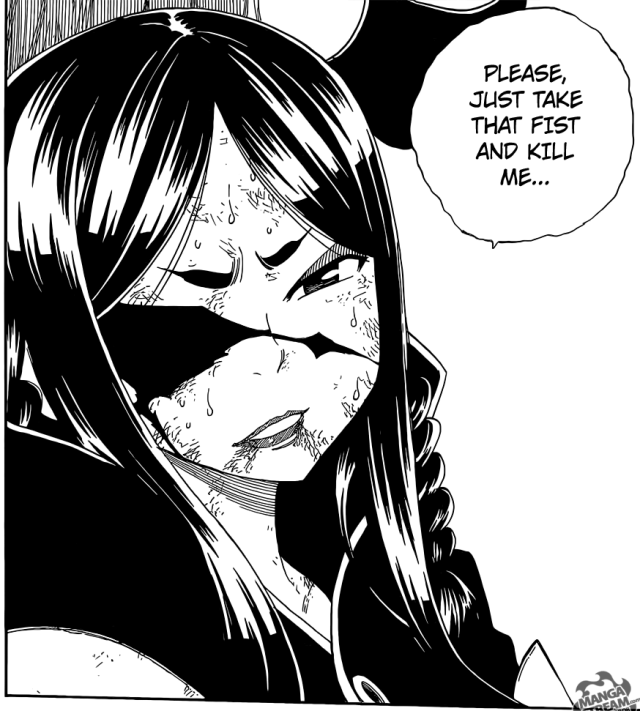 Fairy Tail chapter 388 - Minerva vulnerable