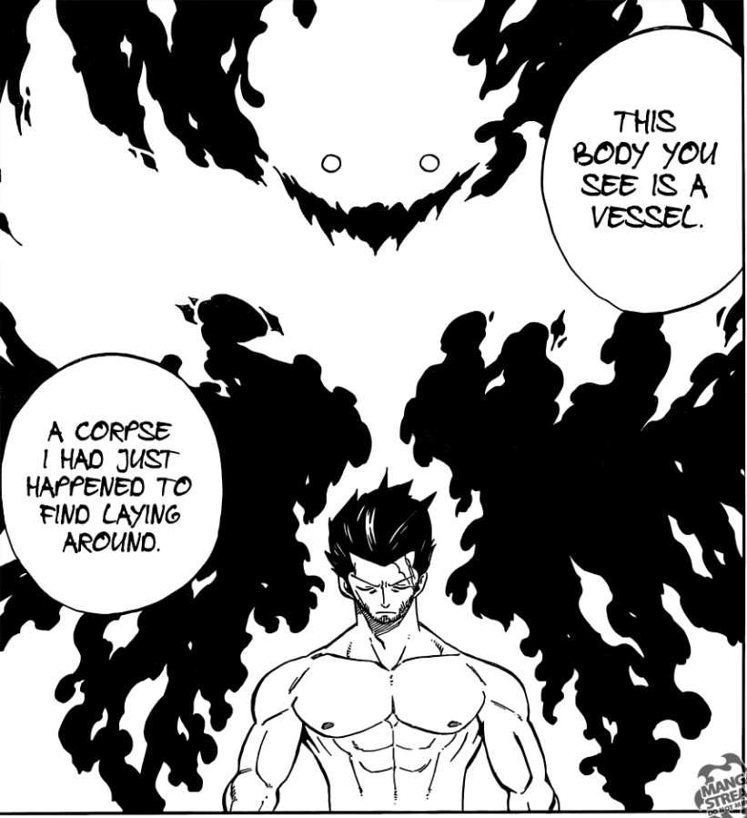 Fairy Tail chapter 390 - Deliora's vessel