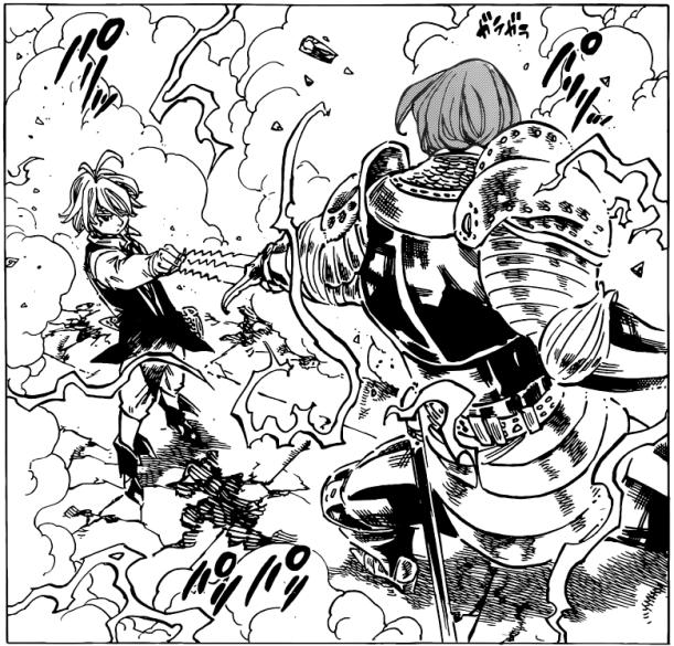 Nanatsu no Taizai chapter 79 - Melodias VS Gilthunder