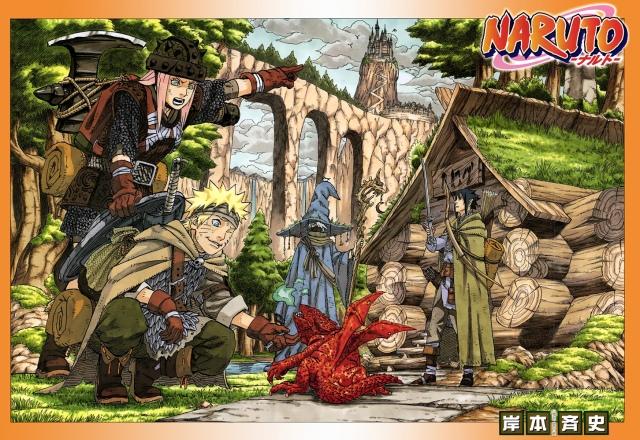 Naruto chapter 679 - color cleaning - by Ulquiorra90 (http://ulquiorra90.deviantart.com)