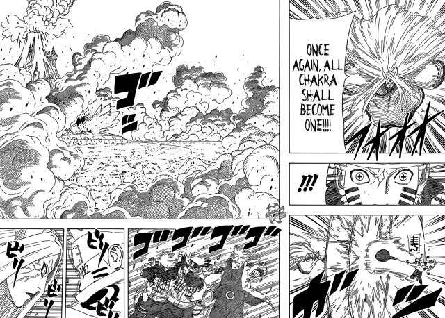 Naruto chapter 680 - Naruto vs Kaguya