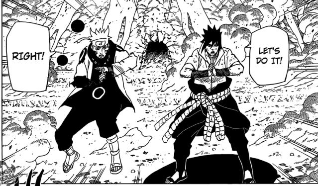 Naruto chapter 682 - Naruto and Sasuke