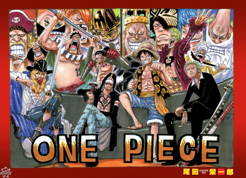 One Piece chapter 750 - colour spread