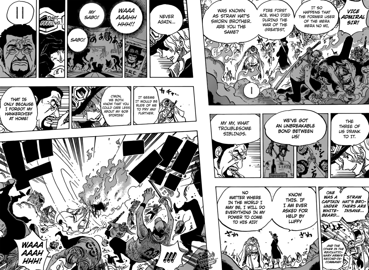 One Piece chapter 751 - Sabo's regret