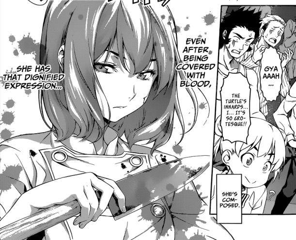Shokugeki no Soma chapter 73 - Hisako's composure