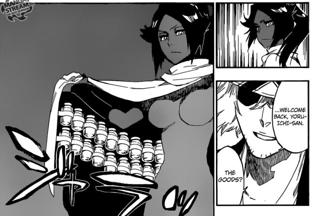 Bleach chapter 589 - Yoruichi and Kisuke
