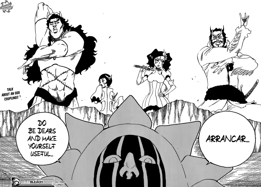 Bleach chapter 590 - Arrancar