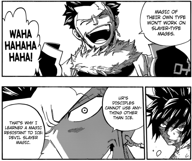 Fairy Tail chapter 391 - Why Deliora learned Devil Slaying Magic