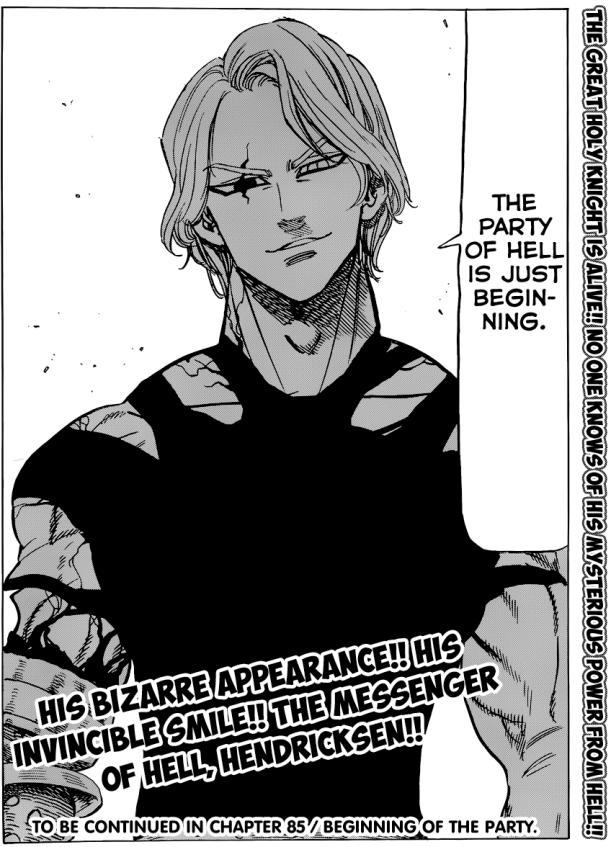 Nanatsu no Taizai chapter 84 - Hendricksen's Demon form
