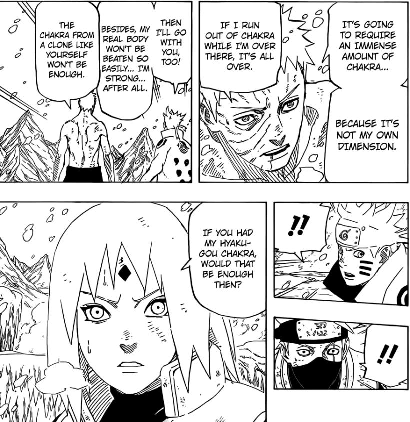 Naruto chapter 683 - Obito's plan