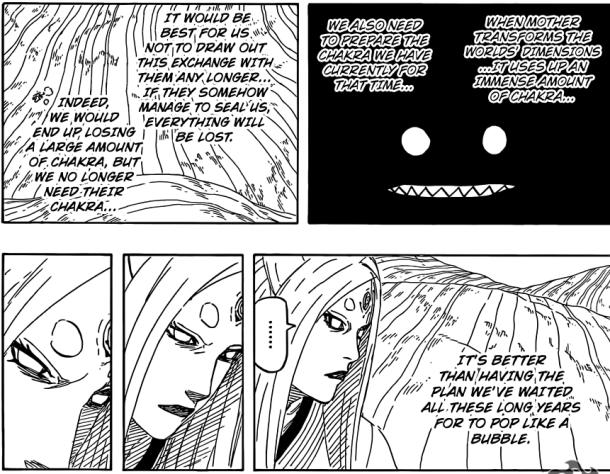 Naruto chapter 684 - Kaguya and Black Zetsu's plan