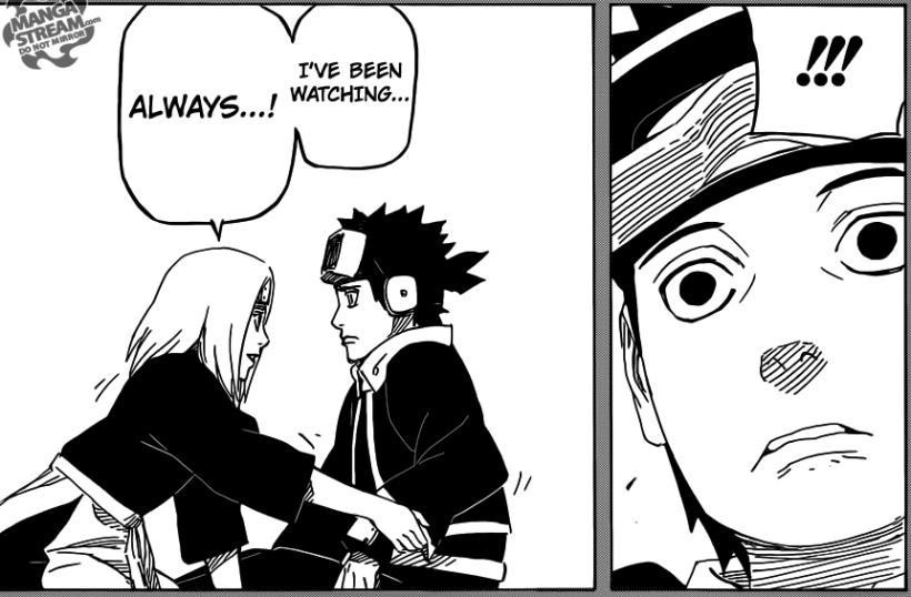 Naruto chapter 687 - Obito and Rin