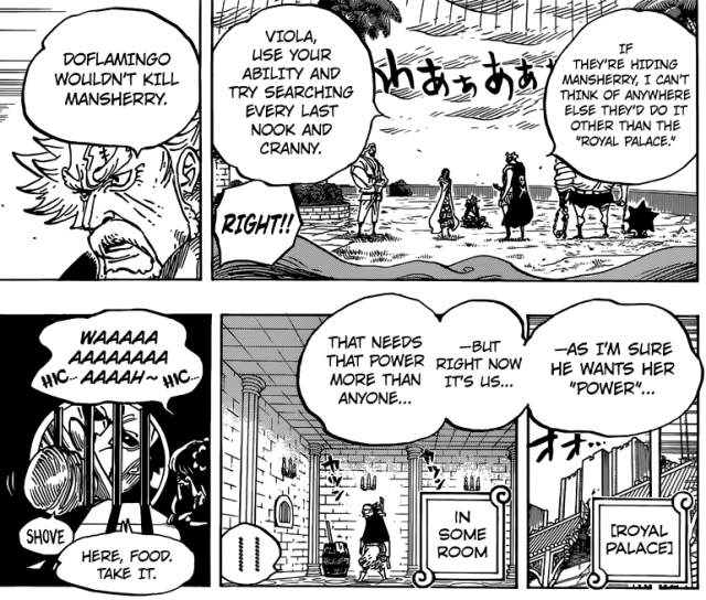 One Piece chapter 755 - Mansherry's importance