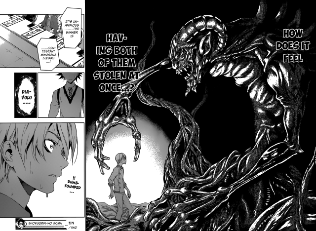 Shokugeki no Soma chapter 79 - within the demon's grasp