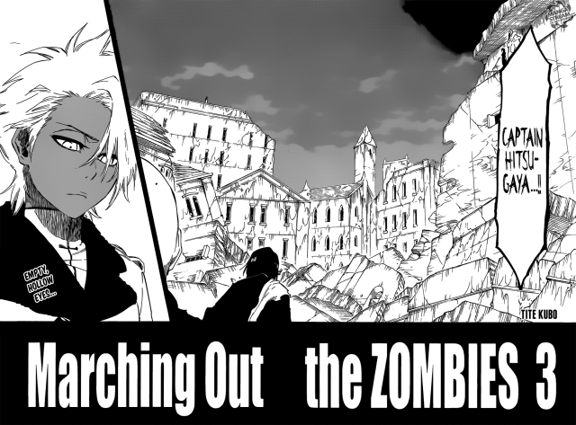 Bleach chapter 592 - Zombie Hitsugaya Toushirou