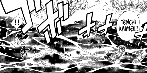 Fairy Tail chapter 396 - Torafusa's black water of darkness