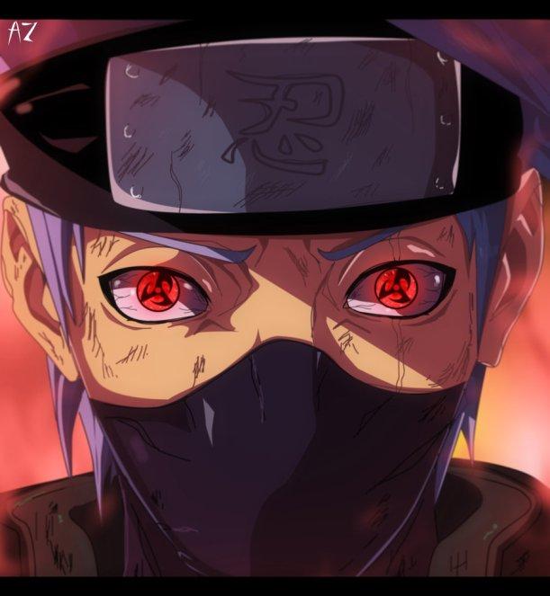 Naruto chapter 688 - Kakashi - colour by AnimeZona (http://animezona.deviantart.com)