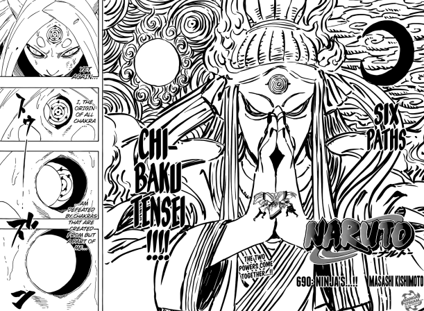 Naruto chapter 690 - Kaguya sealed