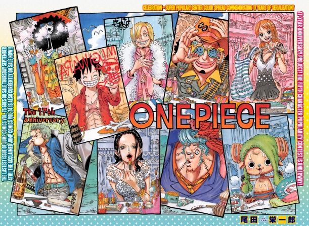 One Piece chapter 756 - colour spread