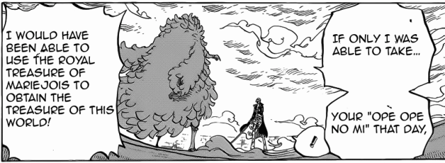 One Piece chapter 761 - Doflamingo's desire