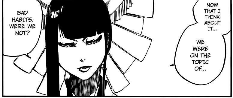 Bleach chapter 599 - Senjumaru defeats Nianzol