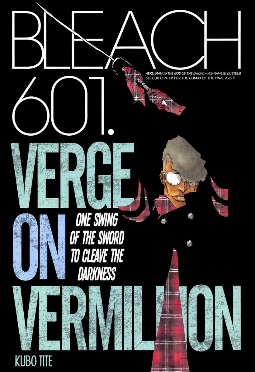 Bleach chapter 601 - colour spread