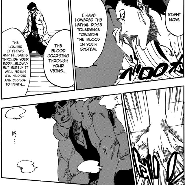 Bleach chapter 602 - Askin vs Ohetsu
