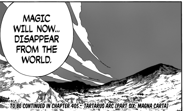 Fairy Tail chapter 404 - Face activates?