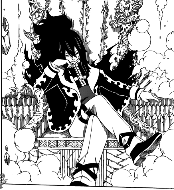 Fairy Tail chapter 406 - Mard Geer, the Dark King
