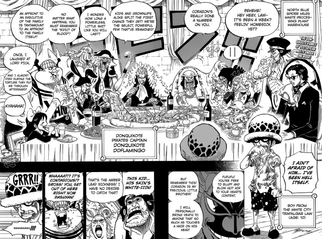 One Piece chapter 762 - Donquixote Pirates