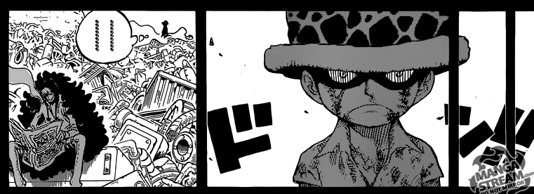 One Piece chapter 762 - Law's hate for Corazon