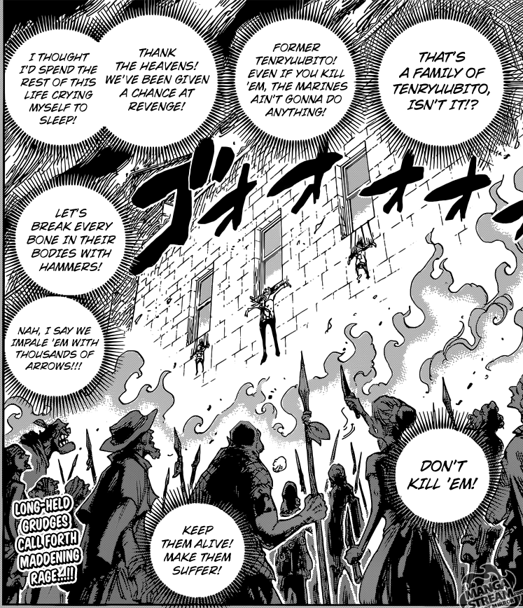 One Piece chapter 763 - the madness of humans