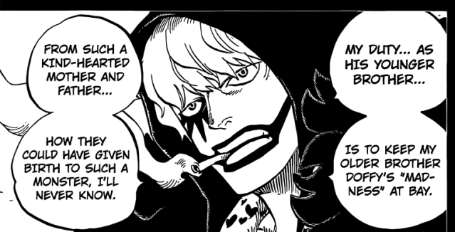 One Piece chapter 764 - Rosinante reveals his intentions