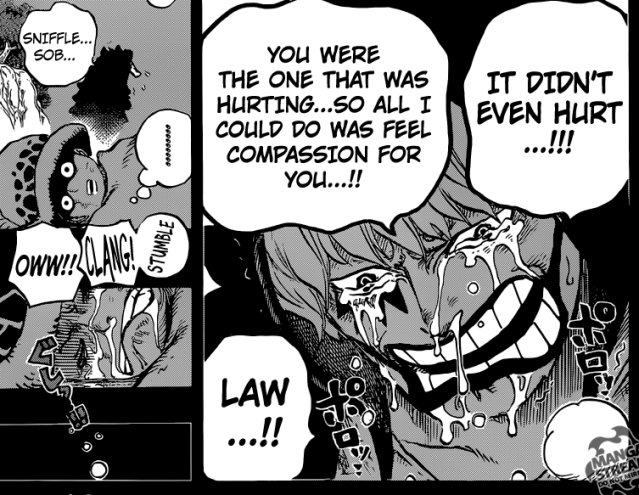 One Piece chapter 764 - Rosinante and Law