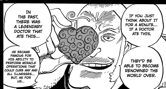 One Piece chapter 765 - the Ope Ope no Mi