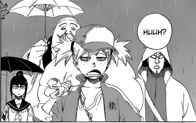 Bleach chapter 606 - the Visored meet with Kisuke