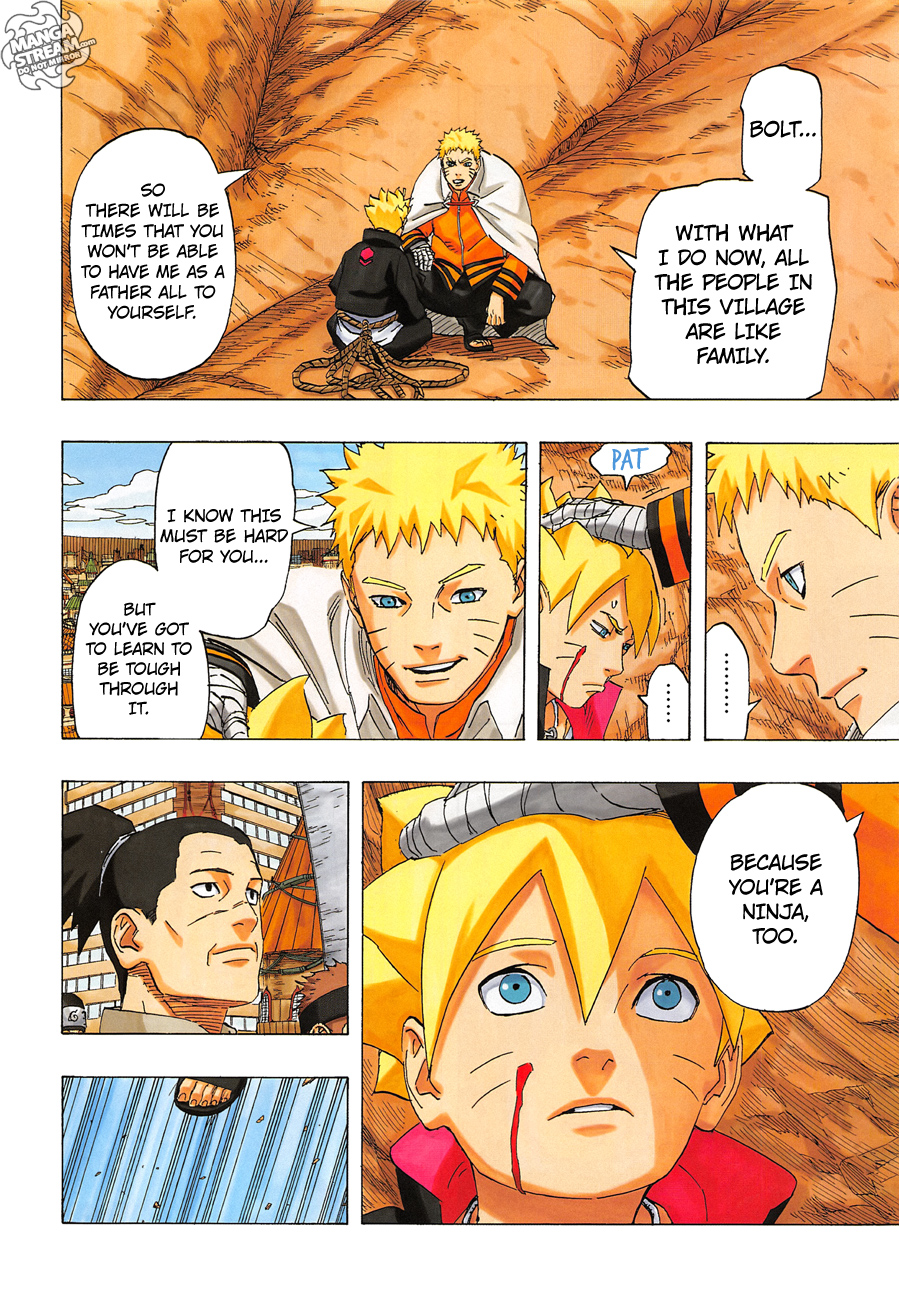 Naruto Chapter 700 – Uzumaki Naruto [END]   12Dimension