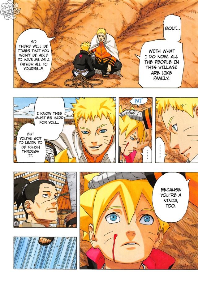 Naruto chapter 700 - Naruto and Bolt